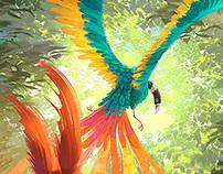 Children's book illustration.