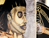 Efecto Cibaeño / Hache St / Arte y Diseño de CD
