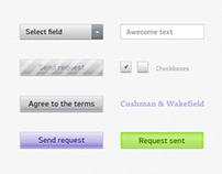 Cushman & Wakefield UI Elements