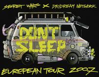 DON'T SLEEP EUROPEAN TOUR 2007