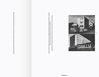 Bauhaus Book of Architecture