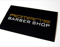 Roman's Barber Shop Branding