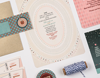 Christina + Andrew Wedding Stationery Suite