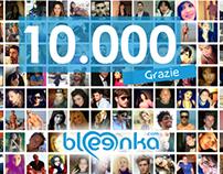 bleenka raggiunge i suoi 10.000 utenti