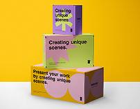 Paper Boxes Mockup