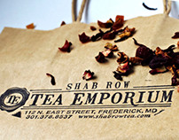 Branding | Shab Row Tea Emporium