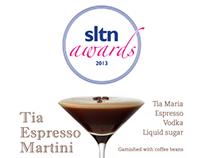 SLTN Awards 2013 Cocktail Card