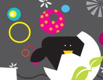 Blackbird Illustration