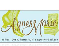 Tiny sticker design for Agnes Marie