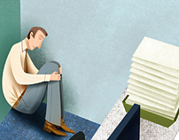 Work Place Relations   editorial illustration