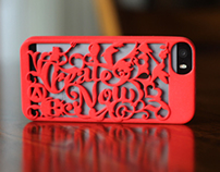 3D Printed iPhone Cover