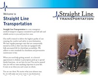 Straight Line Transportation business materials