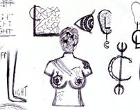 Artist Identity Experiments 2- Logo