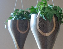 Pully Hung Planters