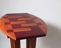 Five Legged Side Table