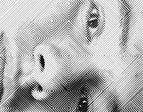 Halftone Self-Portrait GAM