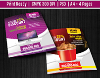 Multi Purpose Bi-Fold Flyer & A3 Poster