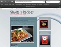 Food Blog: Shveta's Recipes (BlogSpot)