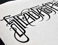 Steadfast Brand: Lettering Designs