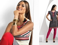 RELIANCE TRENDS SPRING SUMMER-14 CAMPAIGN-ETHNIC/FUSION