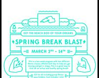 Spring break blast