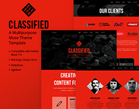 Classified - A Multipurpose Muse Theme