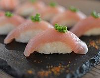 Fotografía para catering Sushi Events.