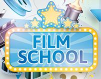 Calibre Film school visual, flyer