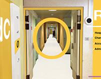 Signalétique pour un centre hospitalier à Dijon (suite)