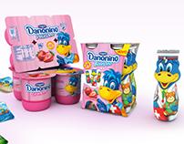 Danonino Packaging