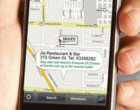 """Brand's Essence Of Chicken """"Google Map Reminder"""""""
