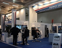 GICAN Pavilion on Defexpo 2014 Delhi