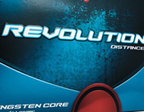 Maxfli Revolution Golf ball Packaging