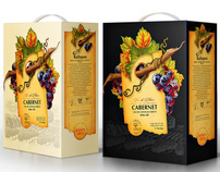 The design studio 13 developed the design for the wine