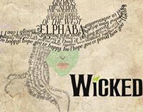 Elphaba Wicked Typography