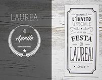 Festa di Laurea Identity