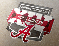 Alabama Signing Day Logo