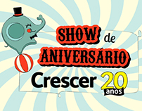 Animation for Crescer's event.
