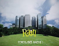 Rain. Social mobile app