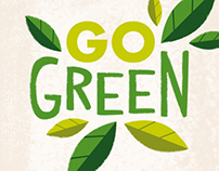 GO Green branding & packaging design