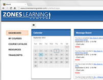 Zones LMS User Interface