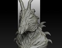 Creature Danyerus Zbrush