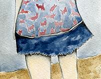 Patricia / Ilustración editorial.