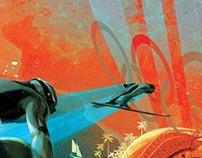 SOCHI 2014 Winter games sport illustration for NYT