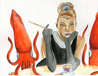 Tea Time With Squids