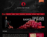 Branding + Web. Tango & Vinos (Denmark)