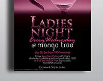 Mango Tree Ladies Night Promo