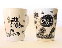 Diseños sobre cerámica