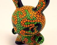 "Hector. 3"" mosaic dunny"