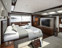 Selected Princess Yachts CGIs